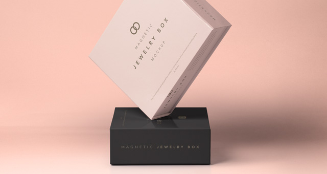 psd jewelry magnetic box mockup psd mock up templates pixeden