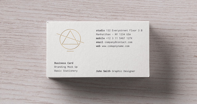 basic stationery branding vol 17