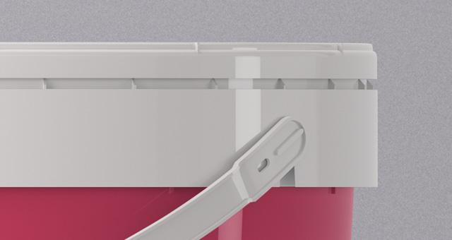 psd paint bucket mockup template