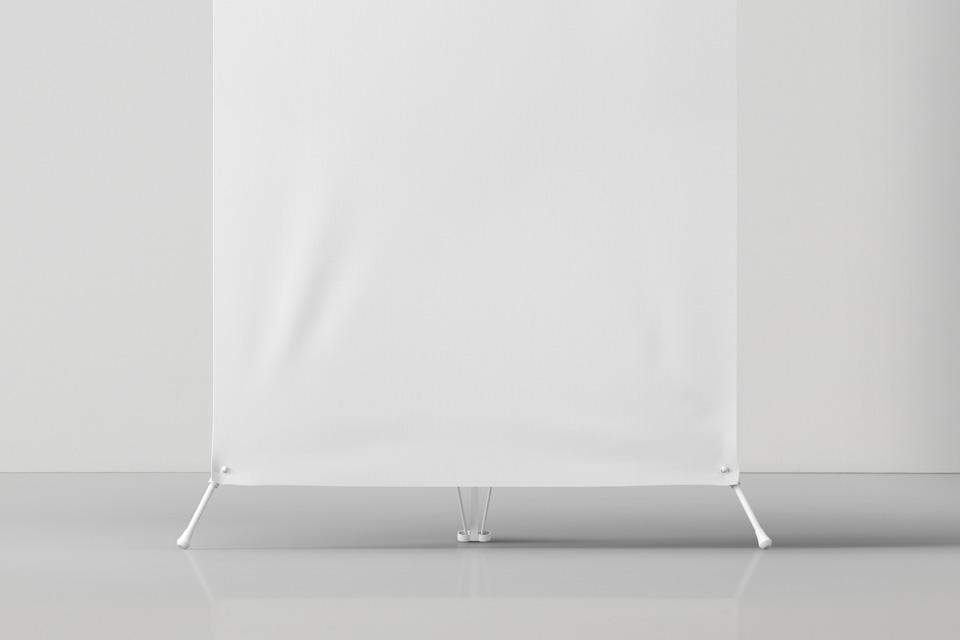 Psd Banner Stand Mockup | Psd Mock Up Templates | Pixeden