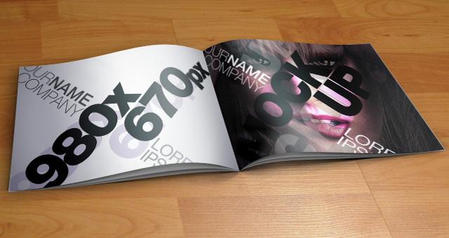 Catalog PSD Mock-Up Template 01