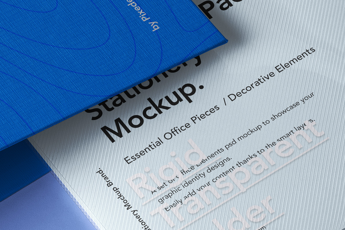 office pack psd stationery mockup