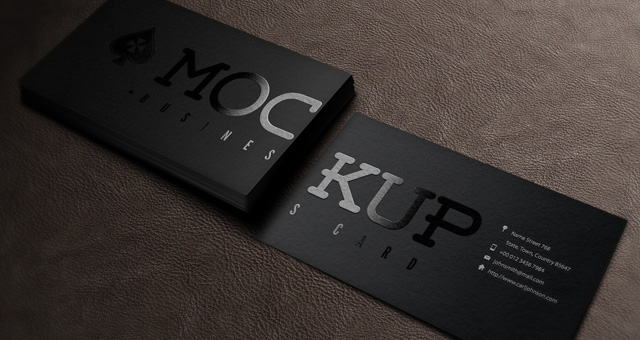 Psd Business Card Mockup Vol5 Psd Mock Up Templates Pixeden