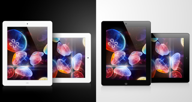 Apple ipad 2 vector