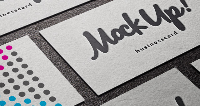 psd business card mockup vol7