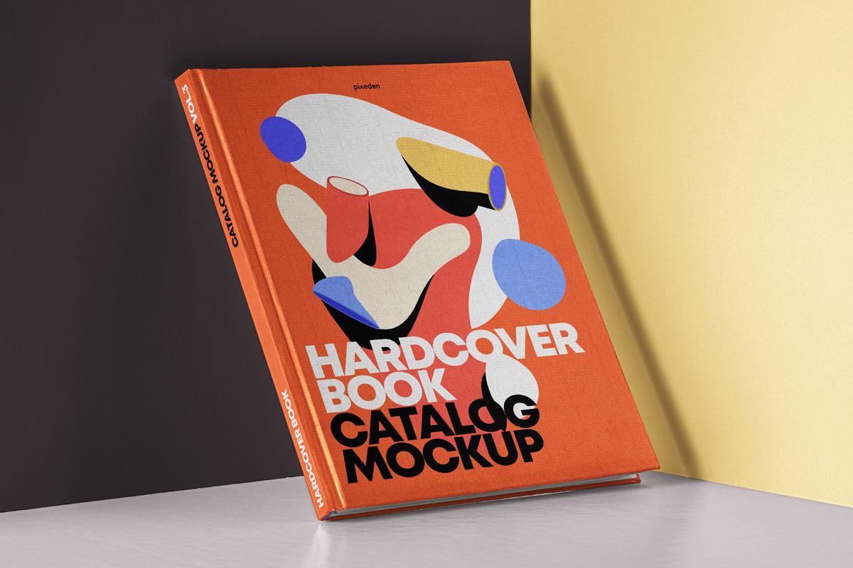 Pixeden Hardcover book mockup