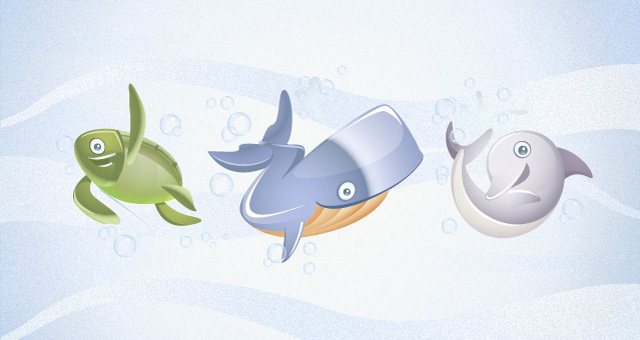 Marine Vector Animals Collection 03