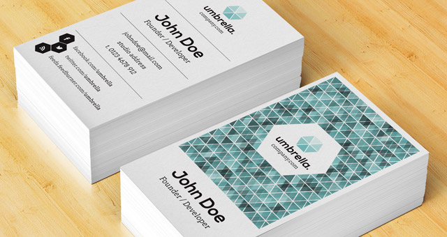 Corporate Business Card Vol 4 Cards Templates Pixeden Reheart Image