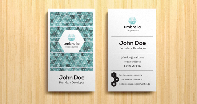 Corporate business card vol 4 business cards templates pixeden corporate business card vol 4 title title accmission Images