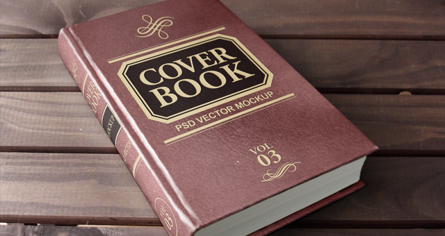 Hardcover Book Cover Template : Psd hardback book mockup template mock up templates