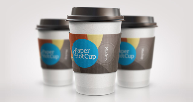 Psd Paper Hot Cup Template Psd Mock Up Templates Pixeden