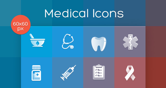 Medical Icons Set Conceptual Icons Pixeden