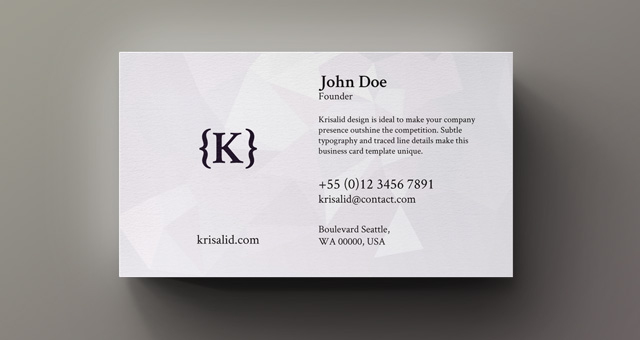 Corporate business card vol 7 business cards templates for Business card titles for owners