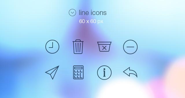 Séptimo pack de iconos gratis