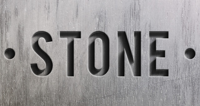 Psd Engraved Stone Text Effect | Photoshop Text Effects | Pixeden