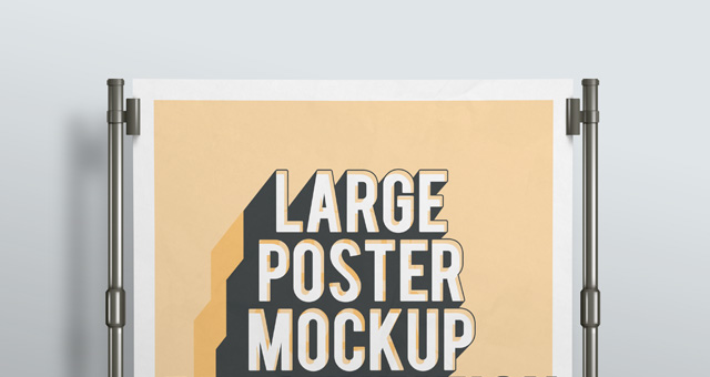 Psd Poster Mockup Presentation Vol2 Psd Mock Up