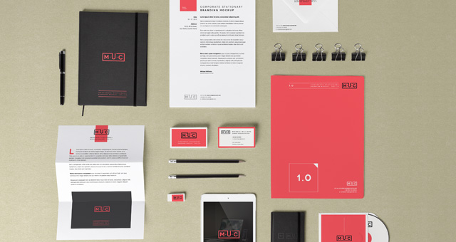 Stationery Branding Mock Up Vol 1 Psd Mock Up Templates