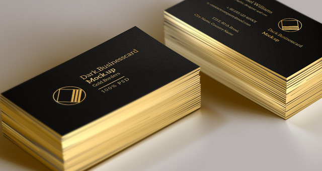 Psd Business Card Mock-Up Vol13 | Psd Mock Up Templates ...