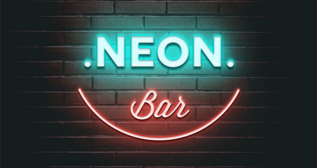 Psd Neon Text Effect Vol3 Photoshop Text Effects Pixeden