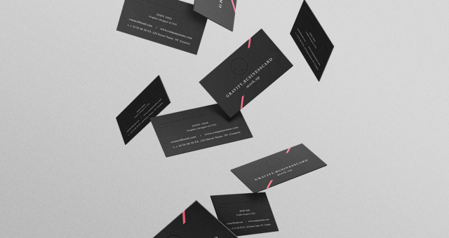 Gravity Psd B Cards Mock Up Vol2 Psd Mock Up Templates