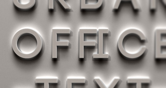 Psd Urban Office Text Effect Photoshop Text Effects