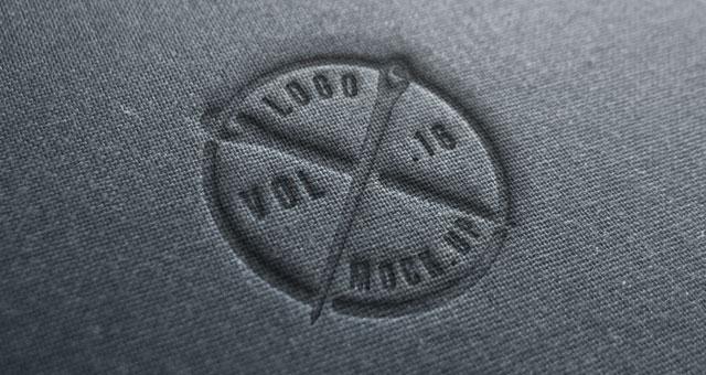 linen logo mock