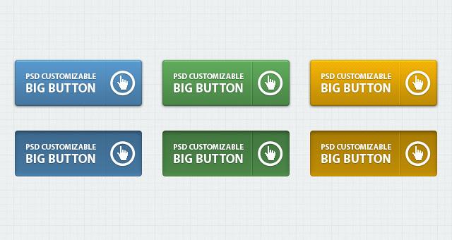 Classic Psd Web Buttons Vol 1 Psd Web Elements Pixeden
