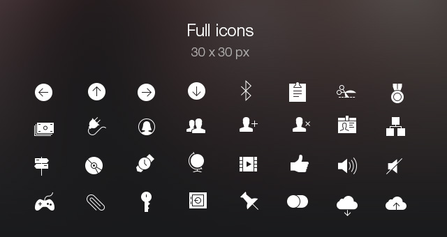 Tab Bar Icons Ios 7 Vol5 Media Icons Pixeden