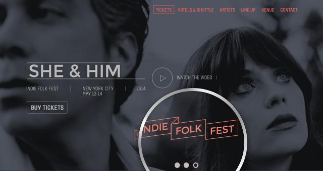 psd festival event website template