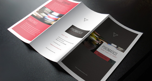 Corporate tri fold brochure template 2 brochure for Simple tri fold brochure template
