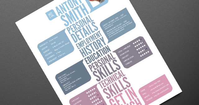 creative resume template 03 - Creative Design Resume Templates