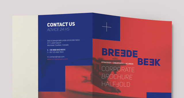 Breede Bi Fold Brochure Template. Title Title Title ...  Bi Fold Brochure Template Word
