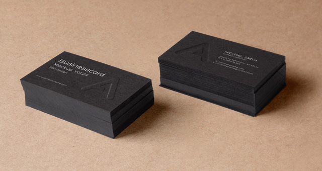 Psd Business Card Mock Up Vol24 Psd Mock Up Templates