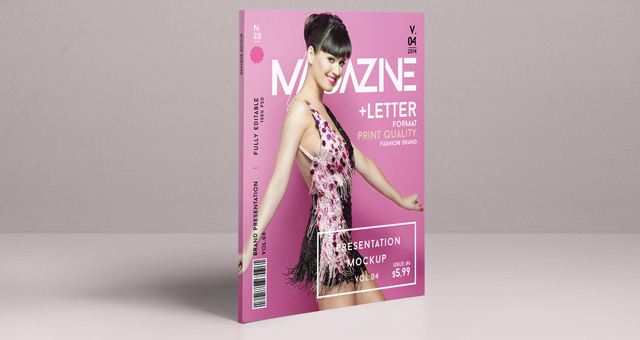 Psd Magazine Mockup View Vol4 Psd Mock Up Templates