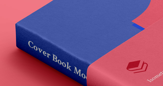 Psd Book Cover Isometric | Psd Mock Up Templates | Pixeden