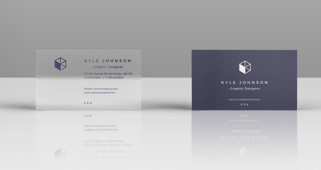 Psd Business Card Mock Up Vol28 Title