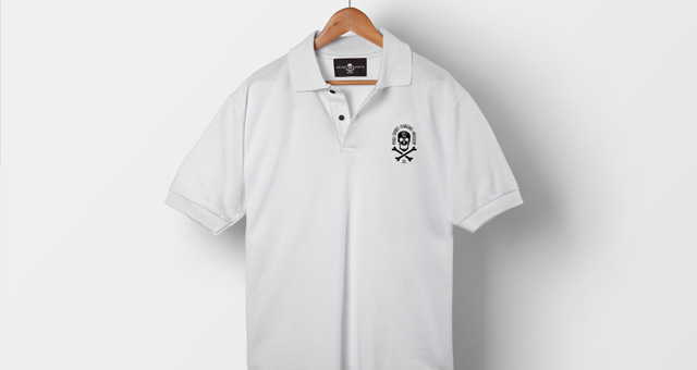 Psd polo shirt mockup vol1 psd mock up templates pixeden for Free polo shirt mockup