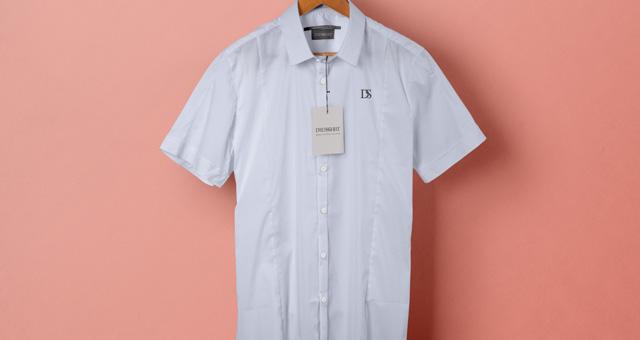 psd short sleeve dress shirt