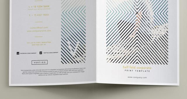 004-vertigo-brochure-half-fold-bi-fold-print-fashion-sorporate Template Admin Bootstrap Premium Free on landing page, login forms, lead generation, cinema page, studio e-commerce,