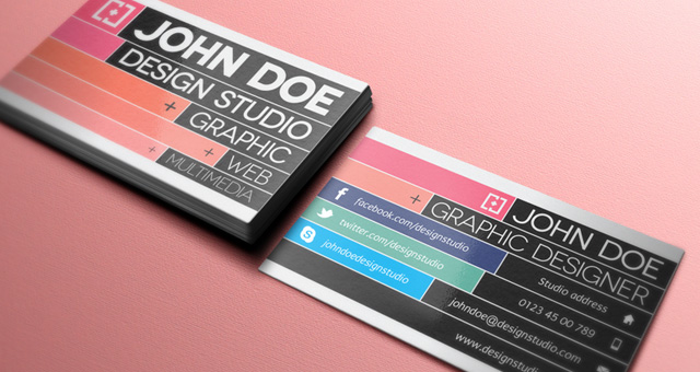 Creative business card vol 3 business cards templates pixeden creative business card vol 3 wajeb