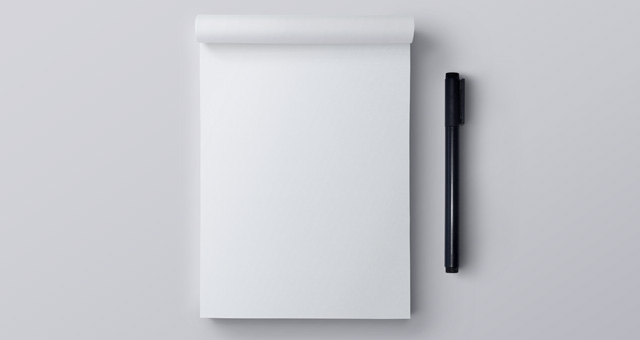 Psd Notepad Mockup | Psd Mock Up Templates | Pixeden