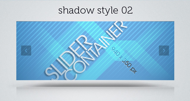 Web Slider Shadow 02