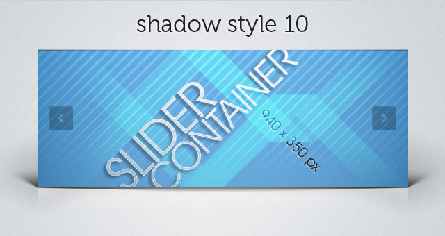 Web Slider Shadow 10