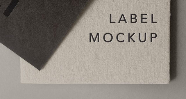 Psd Label Brand Mockup Vol  Psd Mock Up Templates  Pixeden