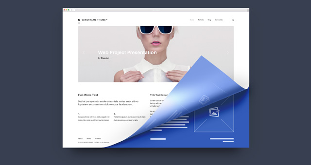 Psd Web Project Presentation | Psd Web Elements | Pixeden