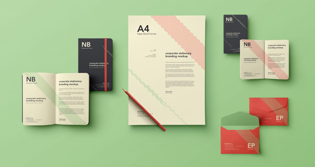 simple stationery