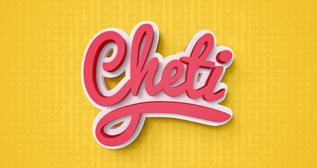 Cheti Psd Text Effect | Photoshop Text Effects | Pixeden