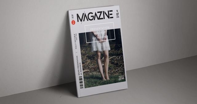 Fashion magazine style fonts
