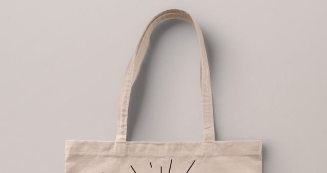 Psd Tote Bag Fabric Mockup | Psd Mock Up Templates | Pixeden