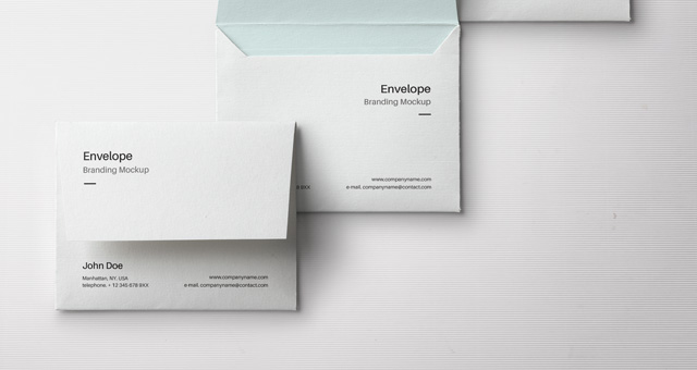 Envelope Letter Psd Mockup Vol3 Psd Mock Up Templates
